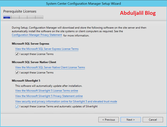 Configuration Manager (Current Branch) – Abdul Jalil Abou